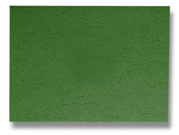 Barevná zadní strana pro kroužkový vazač A4 Ibiston zelená