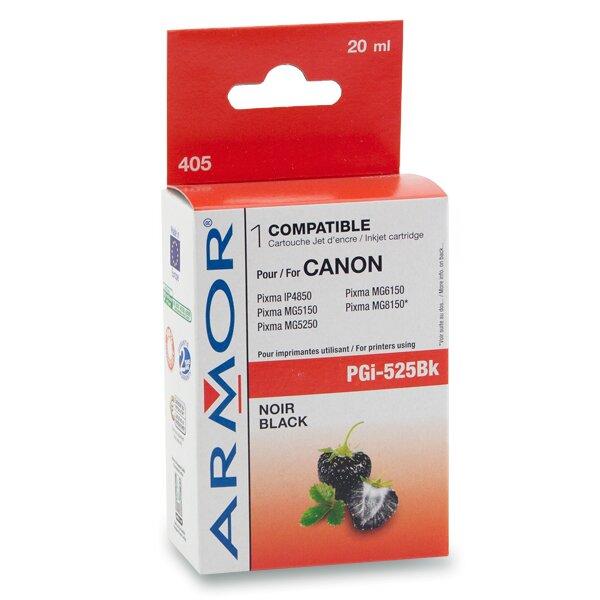 Cartridge Armor PGI-525 pro inkoustové tiskárny black (černá), 20 ml