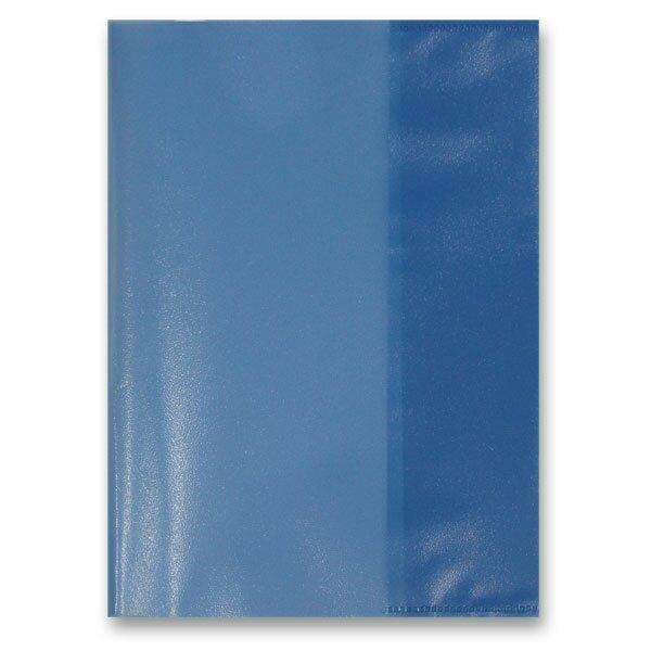Obal na sešity A5 modrý, PP, 80 my