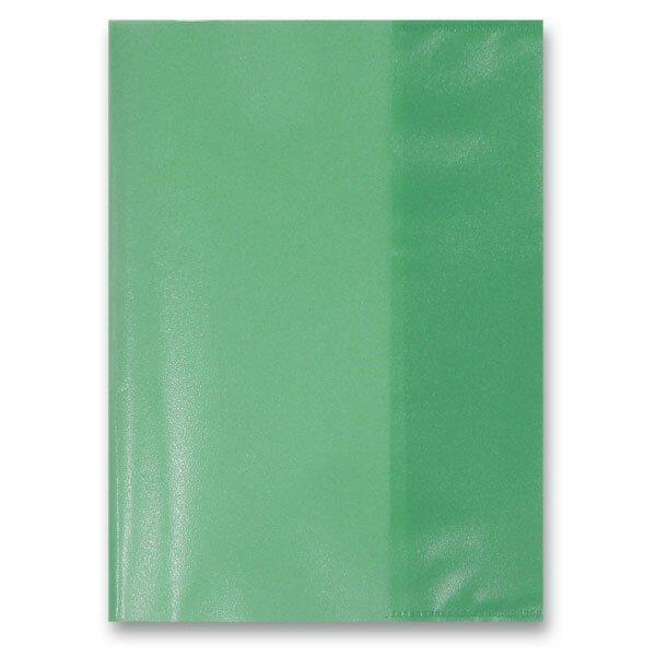 Obal na sešity A5 zelený, PP, 80 my
