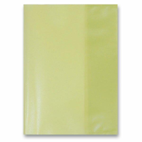 Obal na sešity A4 žlutý, PP, 80 my