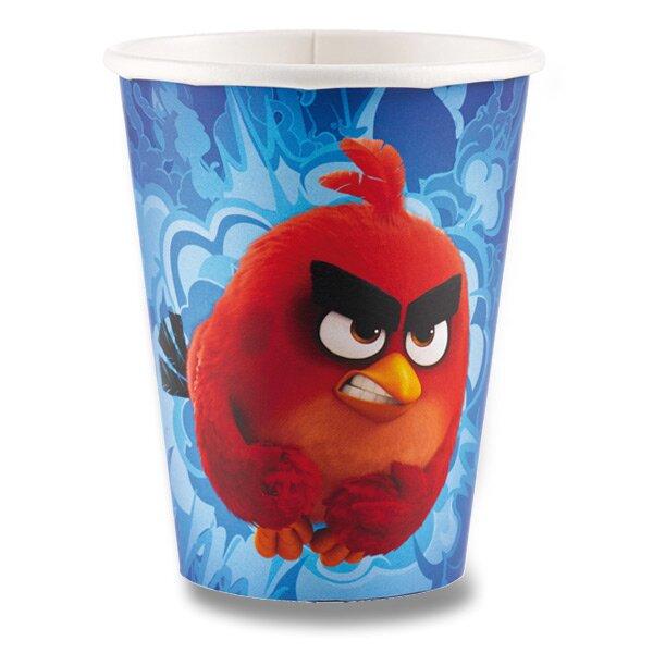 Papírové kelímky Angry Birds Movie objem 0,25 l, 8 ks