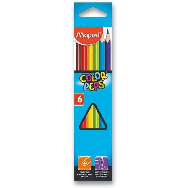 Pastelky Maped 6 barev
