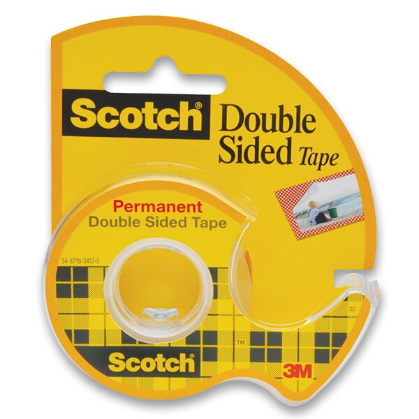 Oboustranná lepicí páska Scotch Double 12 mm x 6,3 m