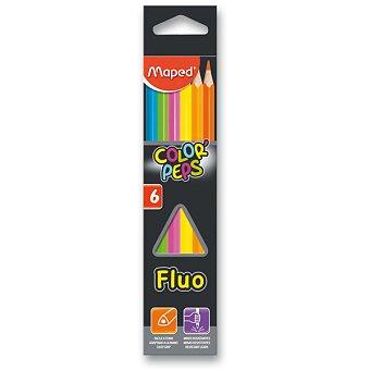 Obrázek produktu Pastelky Maped Color'Peps Fluo - 6 barev
