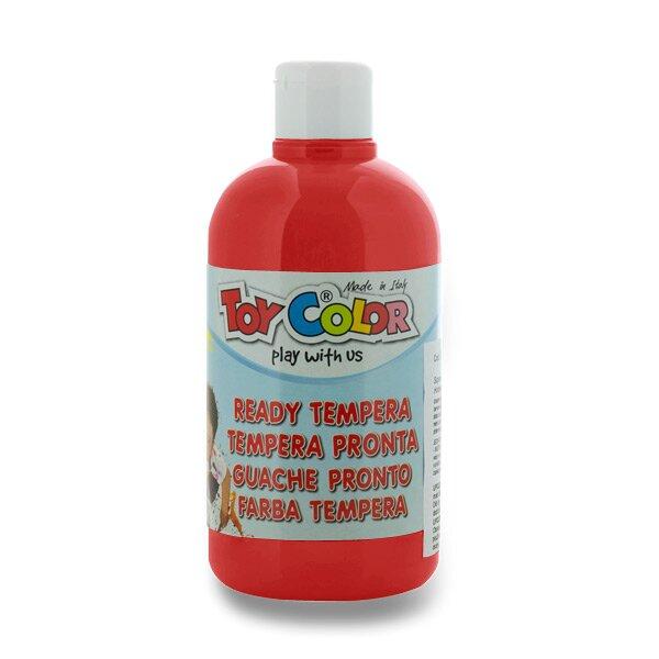 Temperová barva Ready Tempera - 500 ml červená