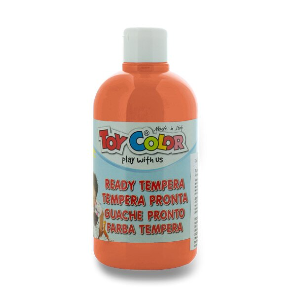 Temperová barva Ready Tempera - 500 ml oranžová