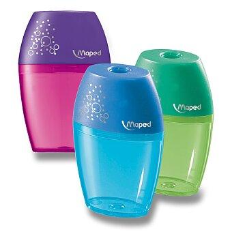 Obrázek produktu Ořezávátko Maped Shaker - s odpadní nádobou - 1 otvor, blistr, mix barev
