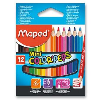 Obrázek produktu Pastelky Maped Color'Peps Mini - 12 barev