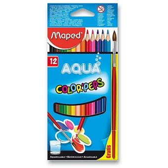 Obrázek produktu Pastelky Maped Color'Peps Aqua - 12 barev + štětec