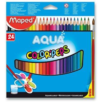 Obrázek produktu Pastelky Maped Color'Peps Aqua - 24 barev + štětec