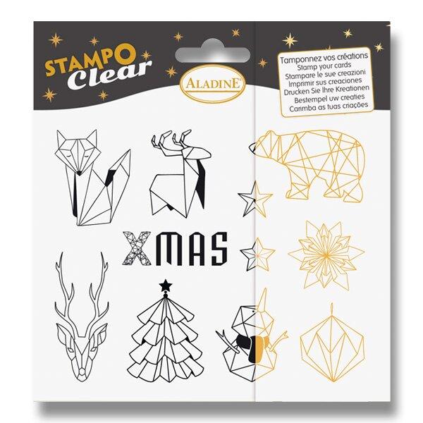 Razítka gelová Stampo Clear - Origami