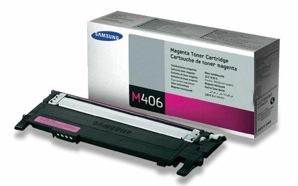 Toner Samsung CLT-M406S pro laserové tiskárny magenta (červený)
