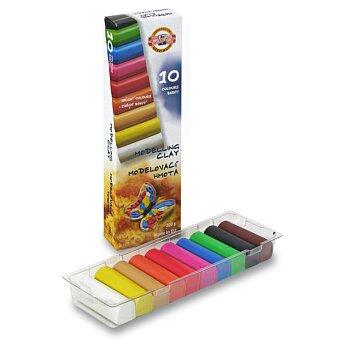 Obrázek produktu Modelína Koh-i-noor 131710 - 10 barev, v krabičce 200 g