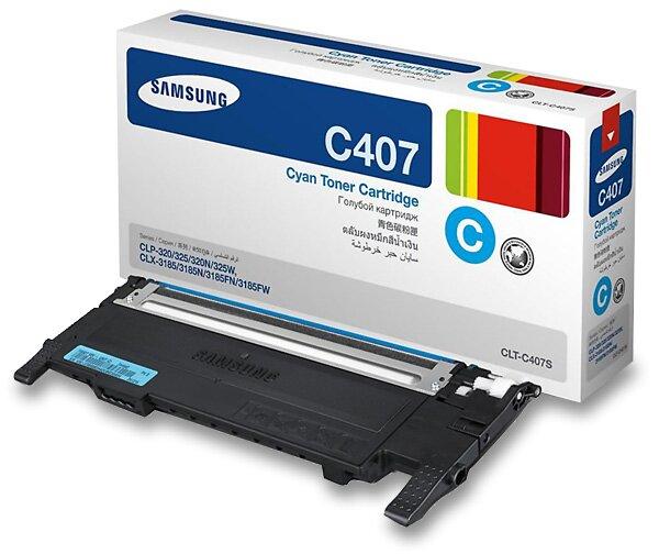 Toner Samsung CLT-C4072S pro laserové barevné tiskárny cyan (modrý)