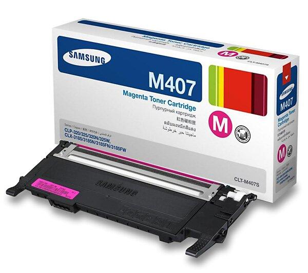 Toner Samsung CLT-M4072S pro laserové barevné tiskárny magenta (červený)