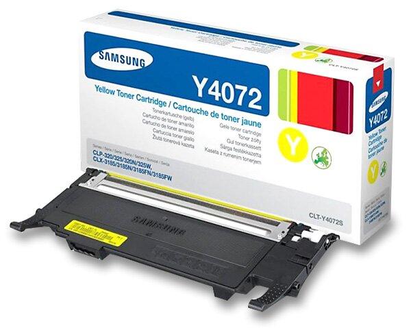 Toner Samsung CLT-Y4072S pro laserové barevné tiskárny yellow (žlutý)