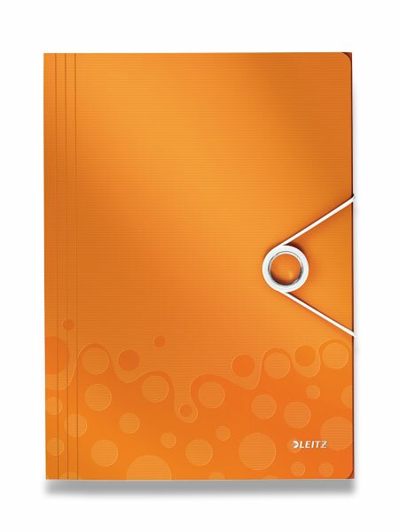 Spisové desky Wow oranžové