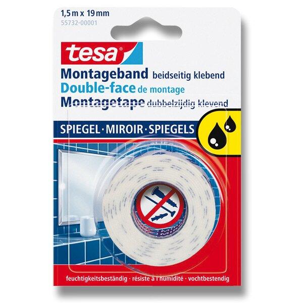 Oboustranná lepící páska Tesa Montagetape do vlhkého prostředí návin 1,5 m