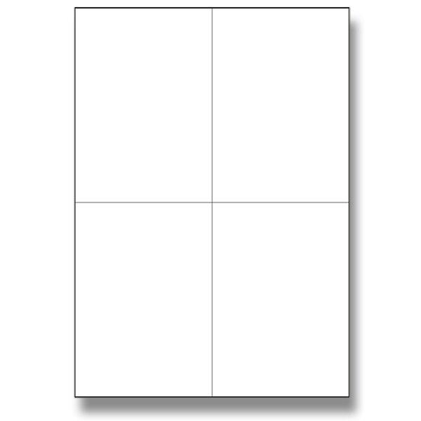 Bílé adresní etikety SK Label pro tvorbu adres balíků 105 x 148, 400 ks