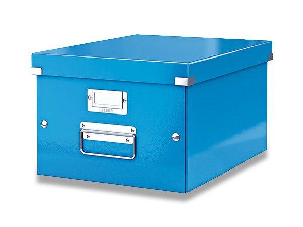 Archivační krabice Leitz Click & Store modrá