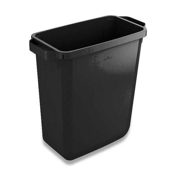 Velkoobjemový koš Durable černý