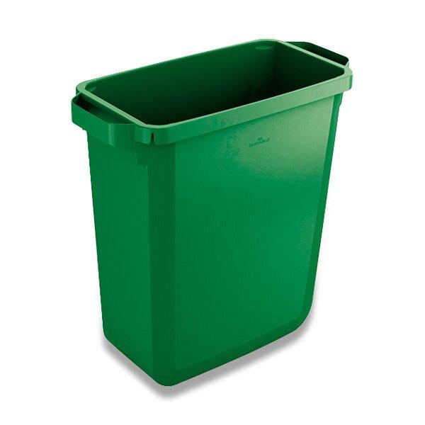 Velkoobjemový koš Durable zelený