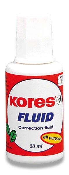 Opravný lak Kores Fluid se štětečkem, 20 ml