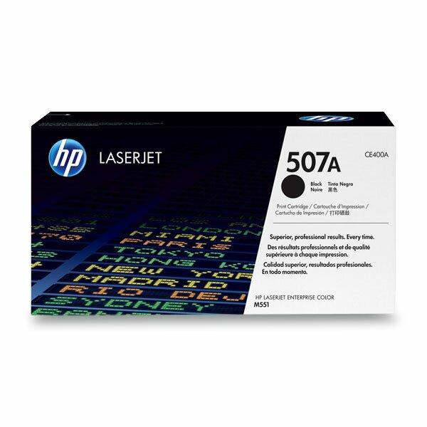 Toner HP CE400A č. 507A pro laserové tiskárny black (černý)