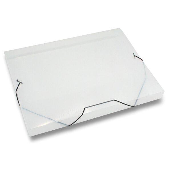 Box na dokumenty Transparent průhledné