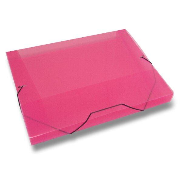 Box na dokumenty Transparent červené