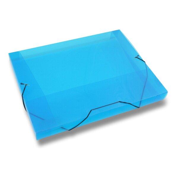 Box na dokumenty Transparent modré