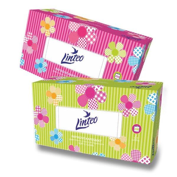 Papírové kapesníčky Linteo Satin 2-vrstvé, 200 ks