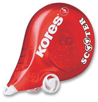 Obrázek produktu Korekční strojek Kores Scooter - 4,2 mm x 8 m, červený