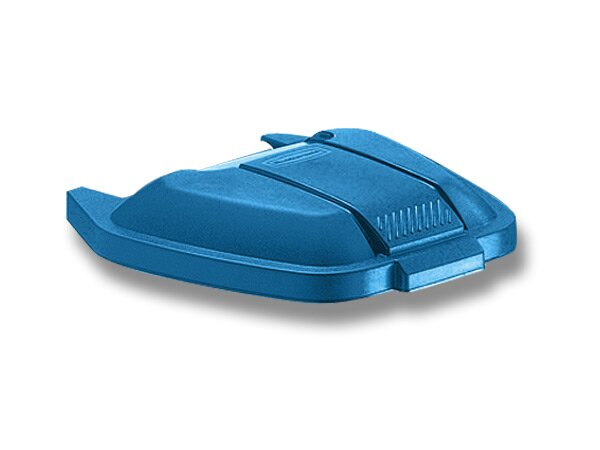 Plastové víko k Contaienru Rubbermaid modré
