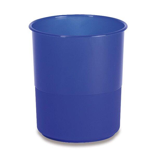 Plastový odpadkový koš Chemoplast modrý