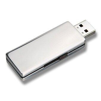 Obrázek produktu USB Flash disk výsuvný s velkým prostorem pro tisk, velikost 4 GB