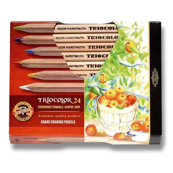 Pastelky Koh-i-noor Triocolor 3154 24 barev