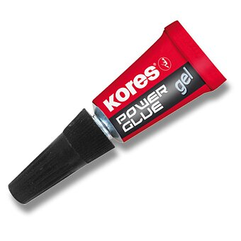 Obrázek produktu Vteřinové lepidlo Kores Power Glue Gel - 3×1 g