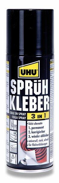 Lepidlo UHU Spray 3 in 1 200 ml