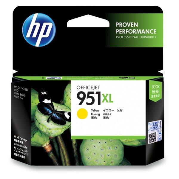 Cartridge HP CN048AE č. 951 XL pro inkoustové tiskárny yellow (žlutý)