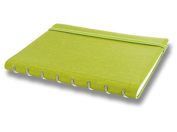 Kapesní zápisník Filofax Notebook Classic limetkový