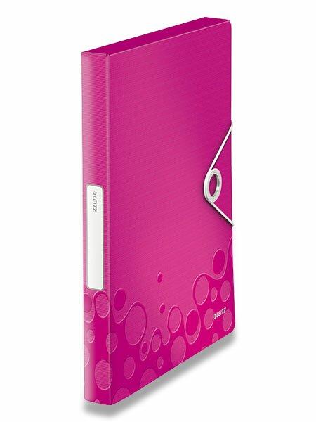 Box na dokumenty Wow - A4 růžový