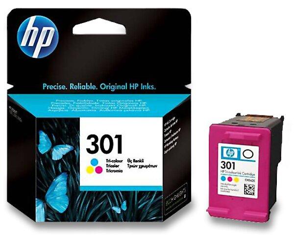 Cartridge HP CH562EE - color č. 301 (barevná) pro inkoustové tiskárny color (barevná)