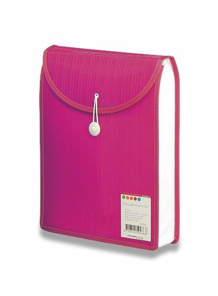 Aktovka na dokumenty Color Barkode růžová