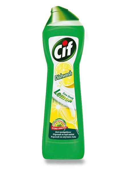 Prostředek na mytí nádobí Cif Citron 500 ml