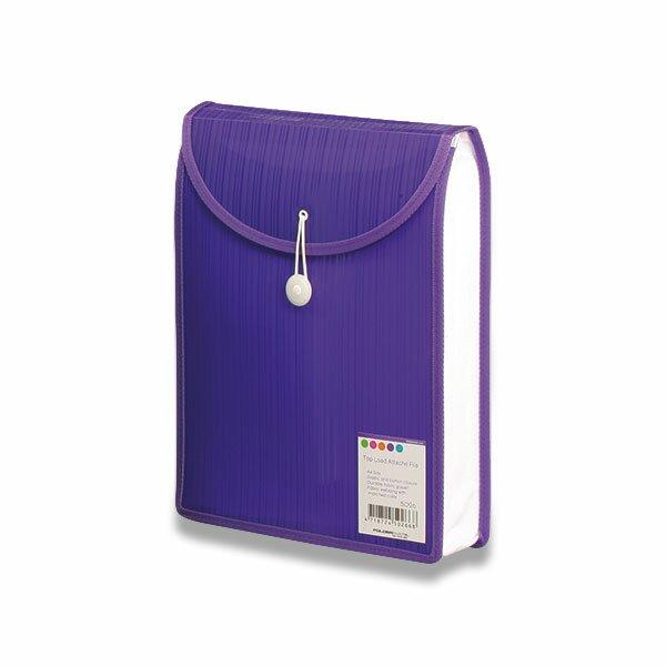 Aktovka na dokumenty Color Barkode fialová