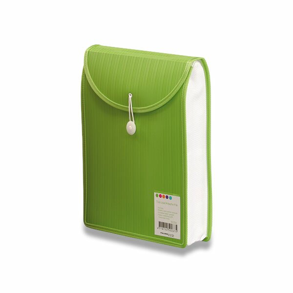 Aktovka na dokumenty Color Barkode zelená