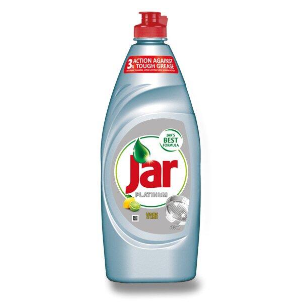 Prostředek na mytí nádobí Jar Platinum 650 ml