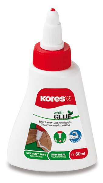 Tekuté disperzní lepidlo Kores White glue 60 ml